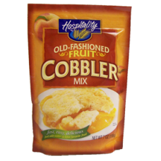 Hospitality Old Fashioned Fruit Cobbler Mix (twenty-four / 7-oz. packages)