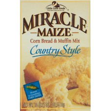 Miracle Maize Country Style Corn Bread Mix (twelve 18-oz. packages)